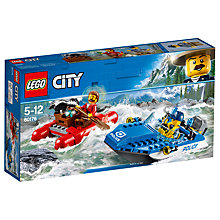 Buy LEGO City 60176 Wild River Escape Online at johnlewis.com