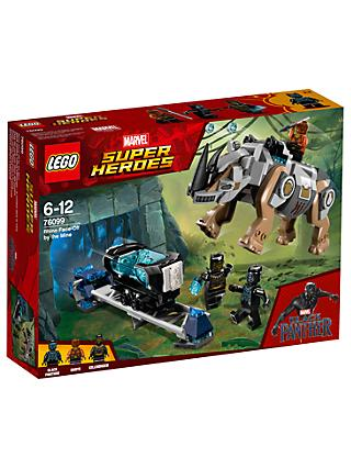LEGO Marvel Super Heroes 76099 Black Panther Rhino Face-Off by the Mine