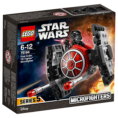 Image of LEGO Star Wars 75194 First Order Tie Fighter Microfighter