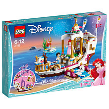 Buy LEGO Disney Princess 41153 Ariel's Royal Celebrity Boat Online at johnlewis.com