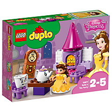 Buy LEGO DUPLO 10877 Beauty and the Beast Belle's Tea Party Online at johnlewis.com