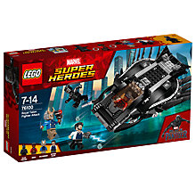 Buy LEGO Marvel Super Heroes 76100 Black Panther Royal Talon Fighter Attack Online at johnlewis.com