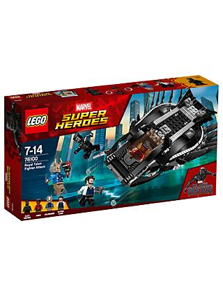 LEGO Marvel Super Heroes 76100 Black Panther Royal Talon Fighter Attack