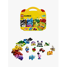 Buy LEGO Classic 10713 Creative Suitcase Online at johnlewis.com
