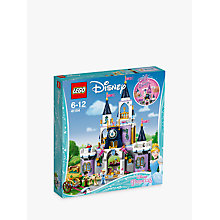 Buy LEGO Disney Princess 41154 Cinderella's Dream Castle Online at johnlewis.com