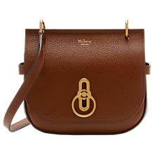Buy Mulberry Amberley Leather Small Satchel Online at johnlewis.com