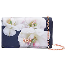 Buy Ted Baker Dafodil Clutch Bag, Blue Online at johnlewis.com