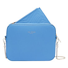 Buy Ted Baker Laneyy Leather Cross Body Camera Bag Online at johnlewis.com