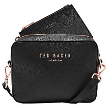 Buy Ted Baker Susi Leather Cross Body Camera Bag Online at johnlewis.com