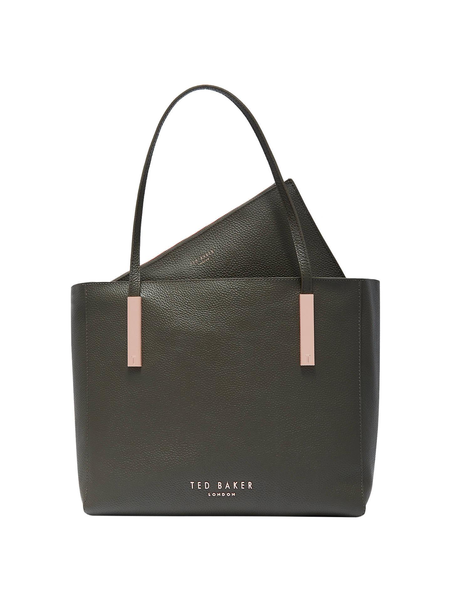 4afa5aee9832c Ted Baker Sarahh Leather Shopper Bag at John Lewis   Partners