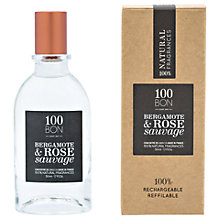 Buy 100BON Bergamote Et Rose Sauvage Eau de Parfum Concentré, 50ml Online at johnlewis.com