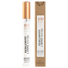 Buy 100BON Bergamote Et Rose Sauvage Eau de Parfum, 10ml Online at johnlewis.com