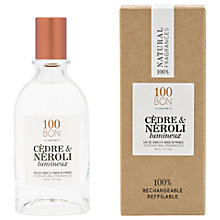 Buy 100BON Cèdre & Neroli Eau de Parfum, 50ml Online at johnlewis.com