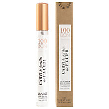 Buy 100BON Carvi Et Jardin de Figuier Eau de Parfum, 10ml Online at johnlewis.com