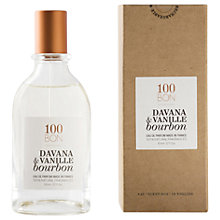 Buy 100BON Davana Et Vanille Bourbon Eau de Parfum, 50ml Online at johnlewis.com