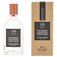 Buy 100BON Nagaranga & Santal Citronne Eau de Parfum Concentré, 50ml Online at johnlewis.com