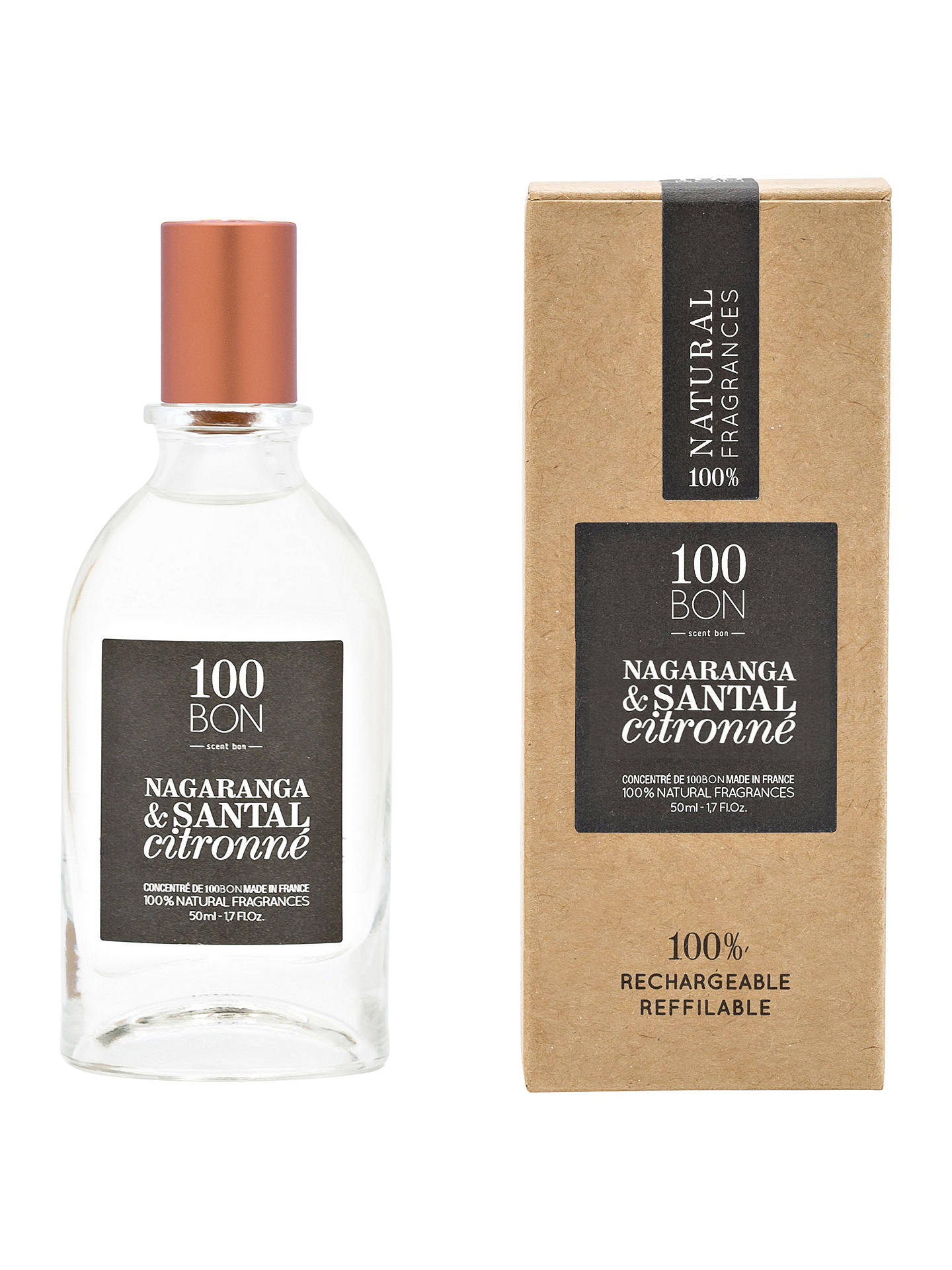 Buy100BON Nagaranga & Santal Citronne Eau de Parfum Concentré, 50ml Online at johnlewis.com