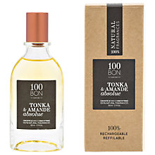 Buy 100BON Tonka Et Amande Absolue Eau de Parfum Concentré, 50ml Online at johnlewis.com