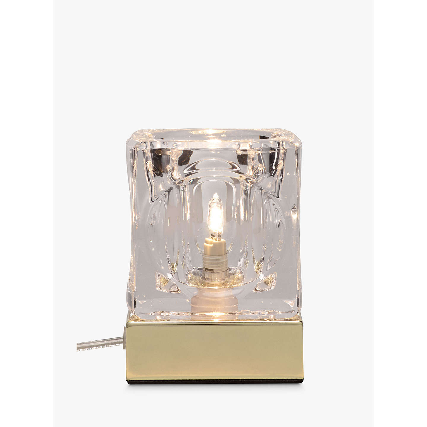 john lewis cuboid touch on off table lamp at john lewis