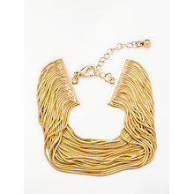 Buy John Lewis Gold Layered Chain Bracelet, Gold Online at johnlewis.com