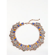 Buy John Lewis Spark Necklace, Blue/Yellow Online at johnlewis.com