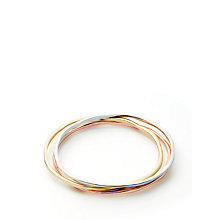Buy John Lewis Mixed Metal 3 Set Bracelet, Multi Online at johnlewis.com