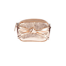 Buy Coast Fia Knot Cross Body Bag, Rose Gold Online at johnlewis.com