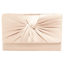 Buy Phase Eight Gemma Twist Front Clutch Bag, Cream Ivory Online at johnlewis.com