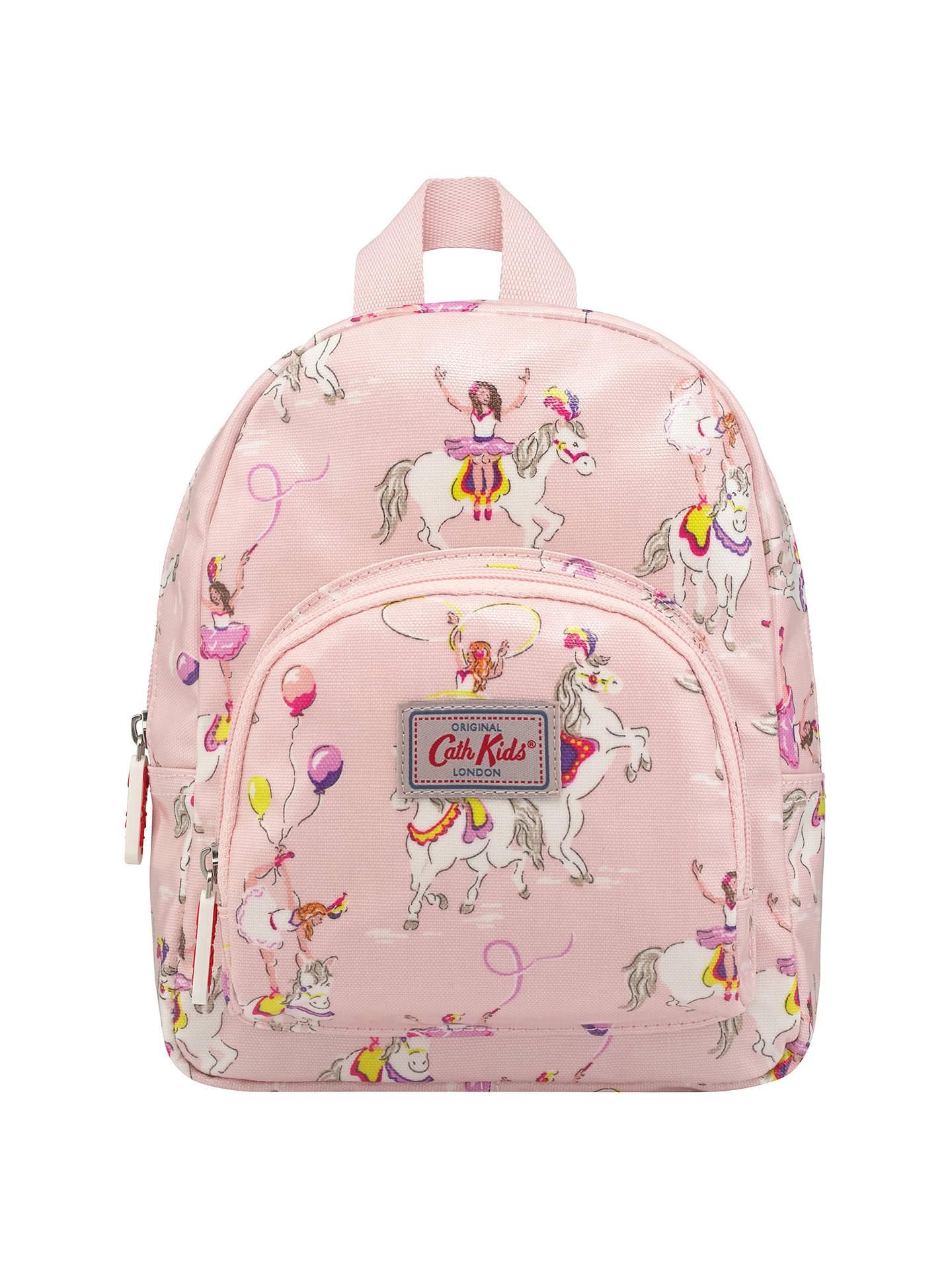 Cath Kidston Children S Prancing Ponies Mini Backpack Pink At John