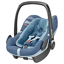 Buy Maxi-Cosi Pebble Plus i-Size Group 0+ Baby Car Seat, Frequency Blue Online at johnlewis.com