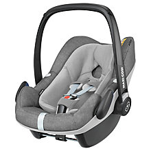 Buy Maxi-Cosi Pebble Plus i-Size Group 0+ Baby Car Seat, Nomad Grey Online at johnlewis.com