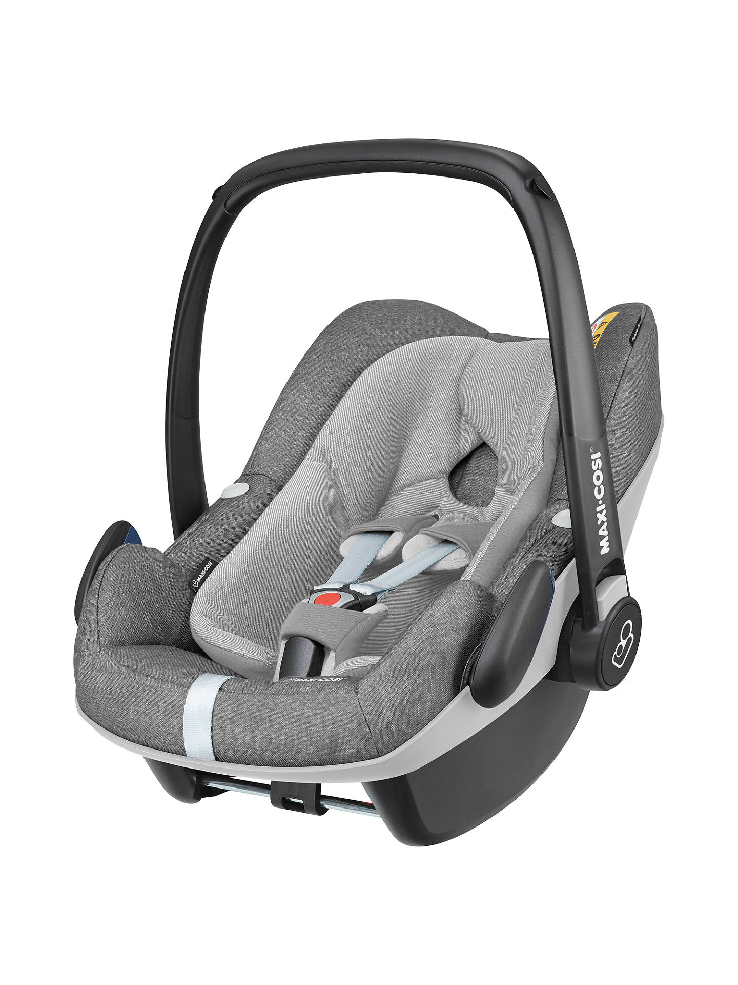 maxi cosi pebble plus i size group 0 baby car seat nomad grey at john lewis partners. Black Bedroom Furniture Sets. Home Design Ideas