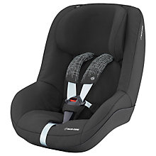 Buy Maxi-Cosi Pearl Group 1 Car Seat, Black Grid Online at johnlewis.com