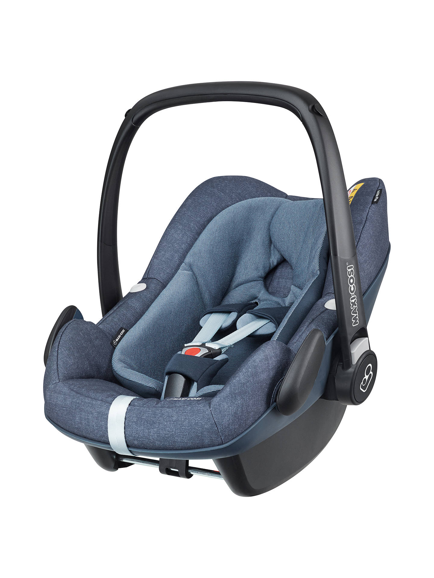 maxi cosi pebble plus i size baby car seat nomad blue at john lewis partners. Black Bedroom Furniture Sets. Home Design Ideas