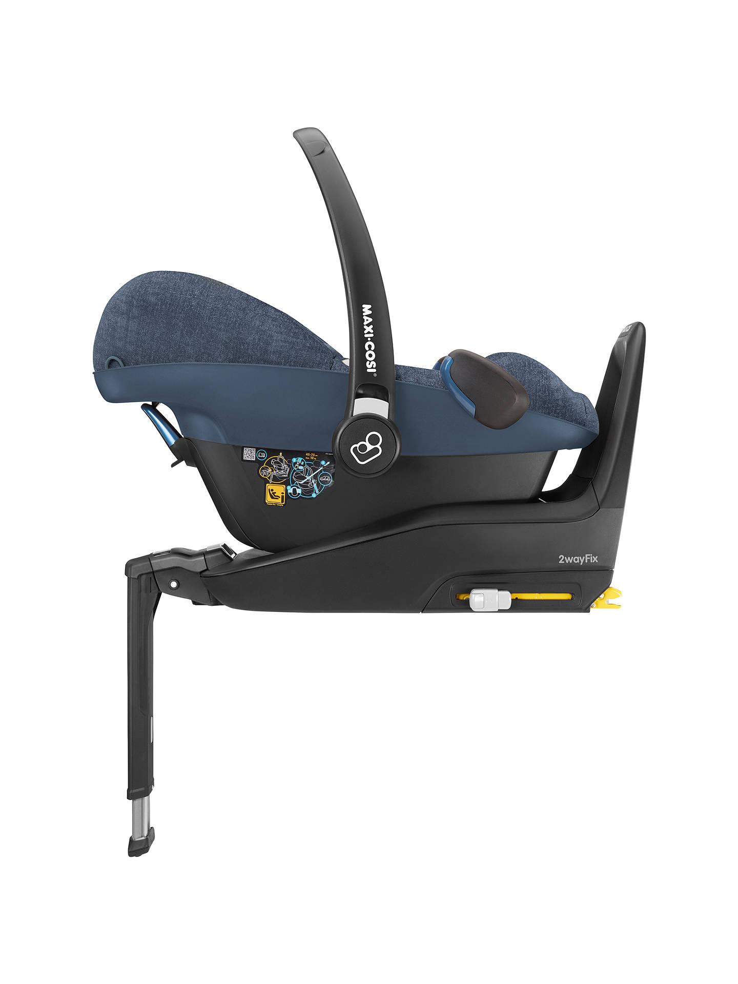 Maxi Cosi Pebble Plus I Size Baby Car Seat Nomad Blue At