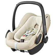 Buy Maxi-Cosi Pebble Plus i-Size Group 0+ Baby Car Seat, Nomad Sand Online at johnlewis.com