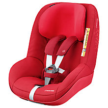 Buy Maxi-Cosi 2wayPearl i-Size Group 1 Car Seat, Vivid Red Online at johnlewis.com