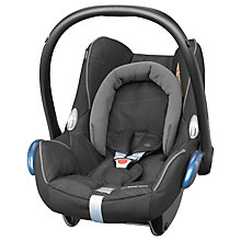 Buy Maxi-Cosi CabrioFix Group 0+ Baby Car Seat, Black Diamond Online at johnlewis.com
