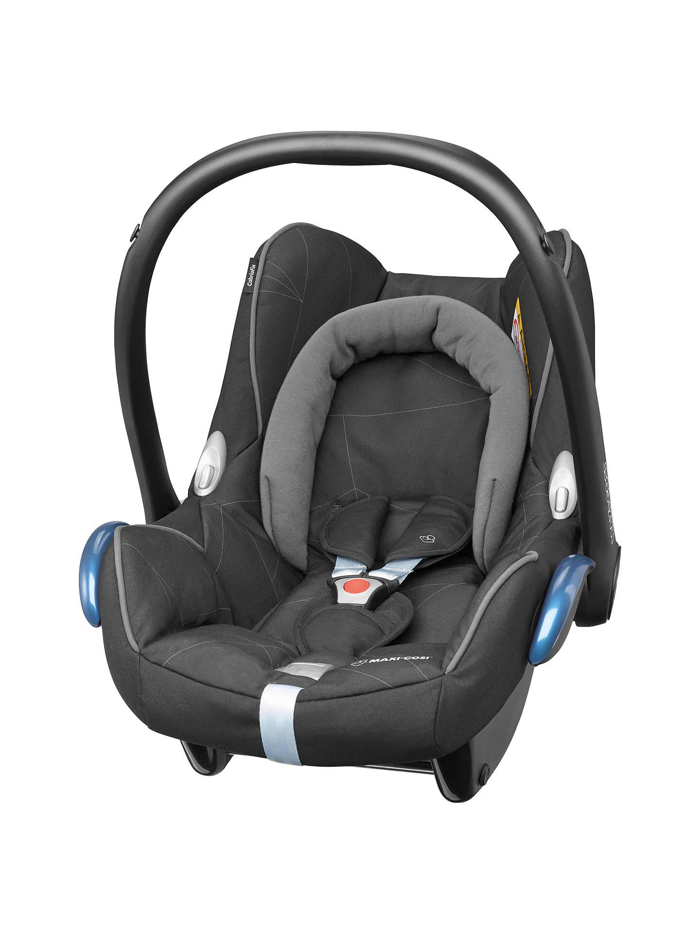 maxi cosi cabriofix group 0 baby car seat black diamond at john lewis partners. Black Bedroom Furniture Sets. Home Design Ideas