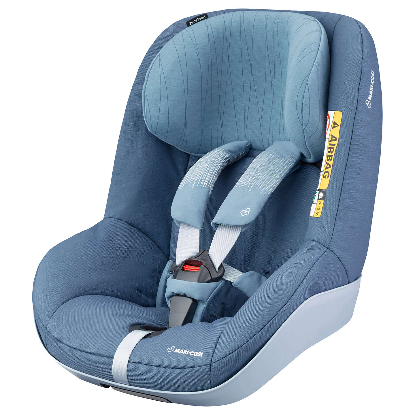 Maxi-Cosi 2wayPearl i-Size Group 1 Car Seat, Frequency Blue at John ...