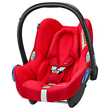 Buy Maxi-Cosi CabrioFix Group 0+ Baby Car Seat, Vivid Red Online at johnlewis.com