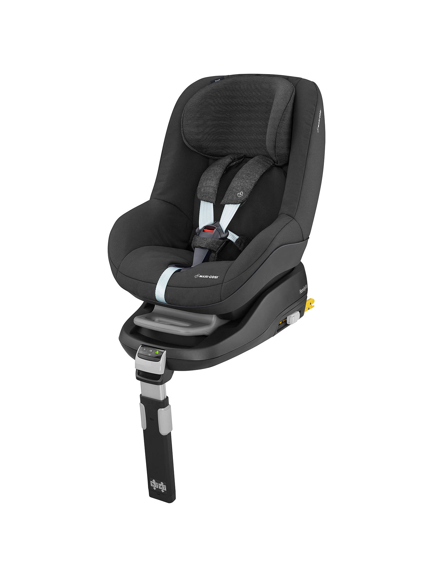 maxi cosi pearl group 1 car seat nomad black at john lewis partners. Black Bedroom Furniture Sets. Home Design Ideas