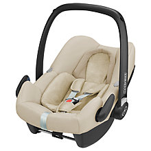 Buy Maxi-Cosi Rock Group 0+ i-Size Baby Car Seat, Nomad Sand Online at johnlewis.com