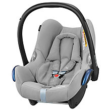Buy Maxi-Cosi CabrioFix Group 0+ Baby Car Seat, Nomad Grey Online at johnlewis.com