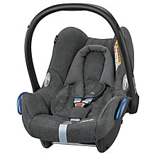 Buy Maxi-Cosi CabrioFix Group 0+ Baby Car Seat, Sparkle Grey Online at johnlewis.com