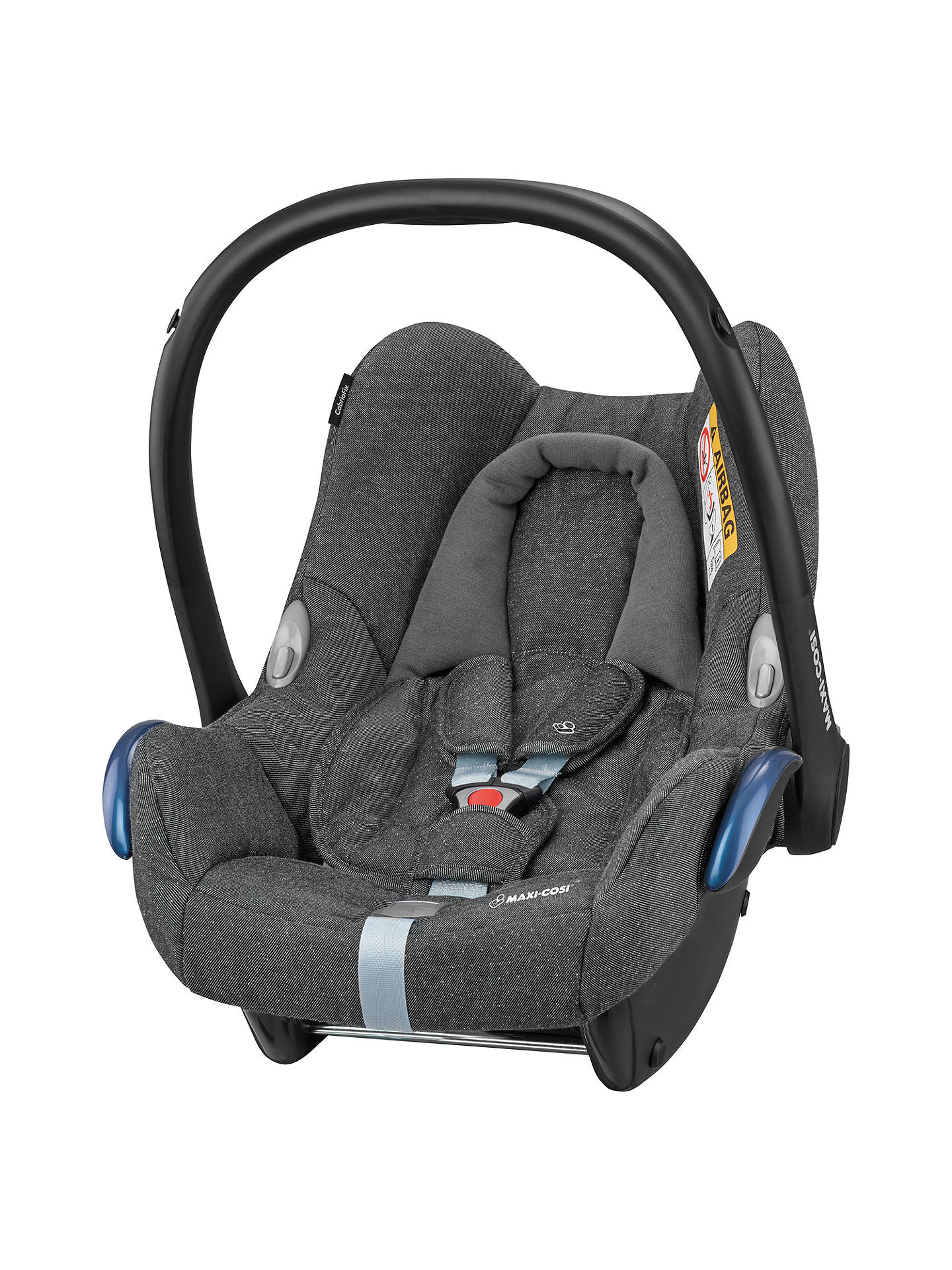 maxi cosi cabriofix group 0 baby car seat sparkling grey at john lewis partners. Black Bedroom Furniture Sets. Home Design Ideas