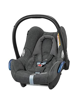 Maxi-Cosi CabrioFix Group 0+ Baby Car Seat, Sparkling Grey