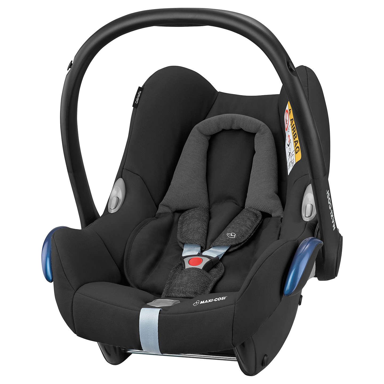 Maxi-Cosi CabrioFix Group 0+ Baby Car Seat, Nomad Black at John Lewis