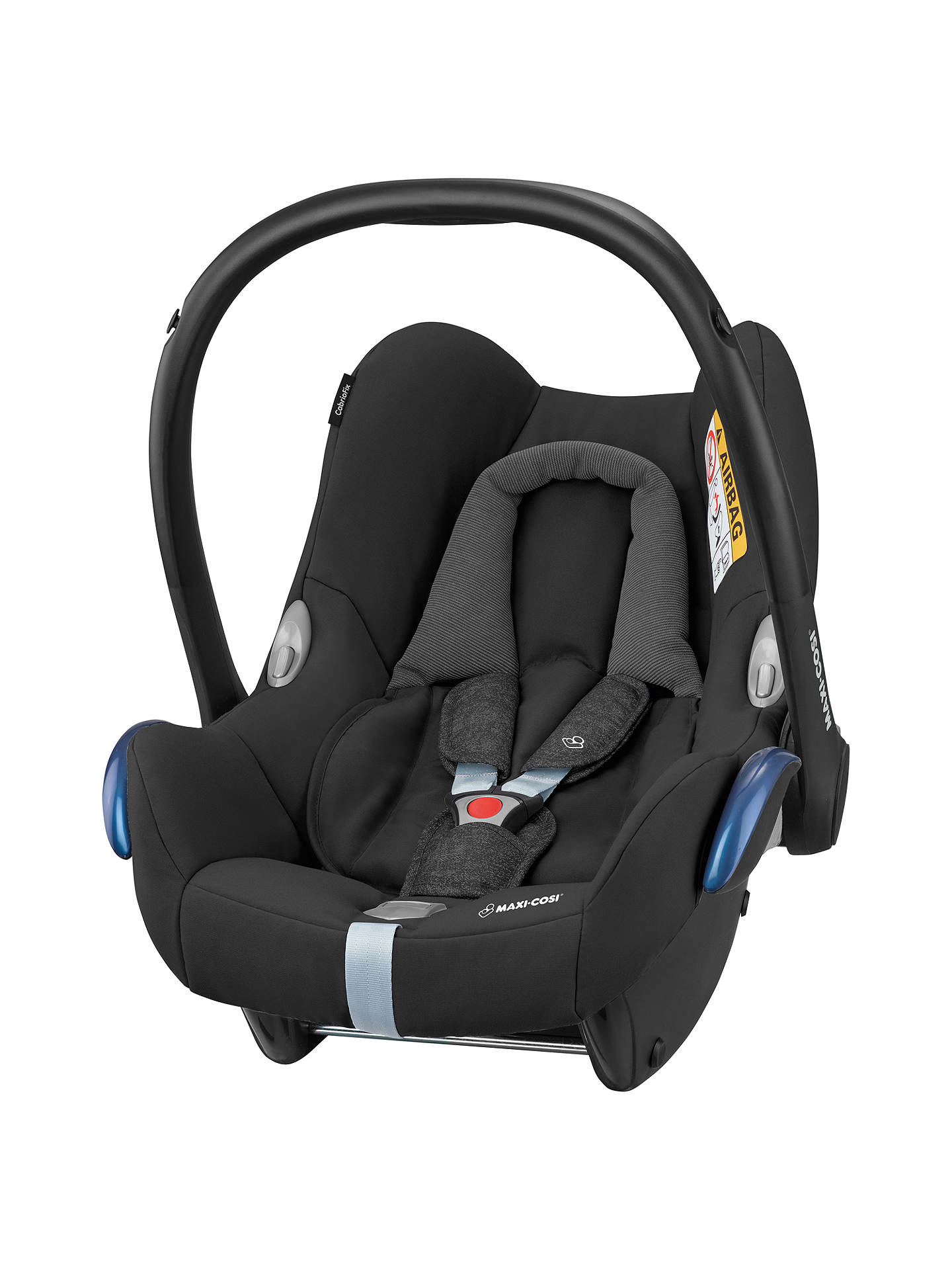 maxi cosi cabriofix group 0 baby car seat nomad black at john lewis partners. Black Bedroom Furniture Sets. Home Design Ideas
