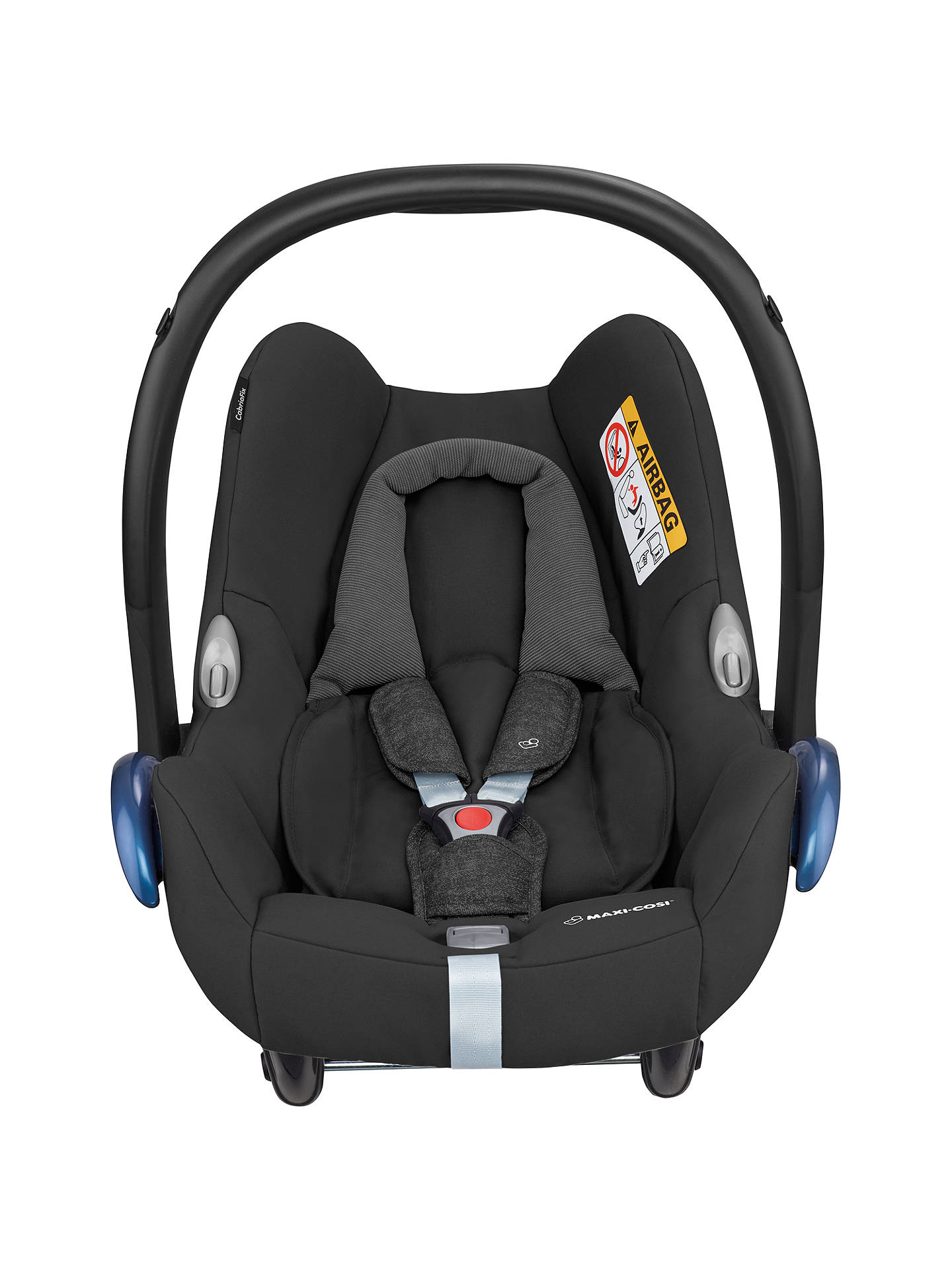 BuyMaxi Cosi CabrioFix Group 0 Baby Car Seat Nomad Black Online At Johnlewis